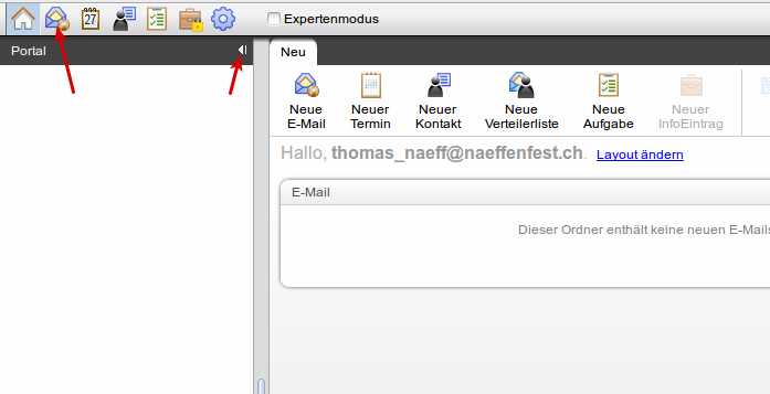 hostpoint webmail start3